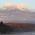 妙高山と野尻湖