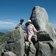 宝剣岳山頂成功